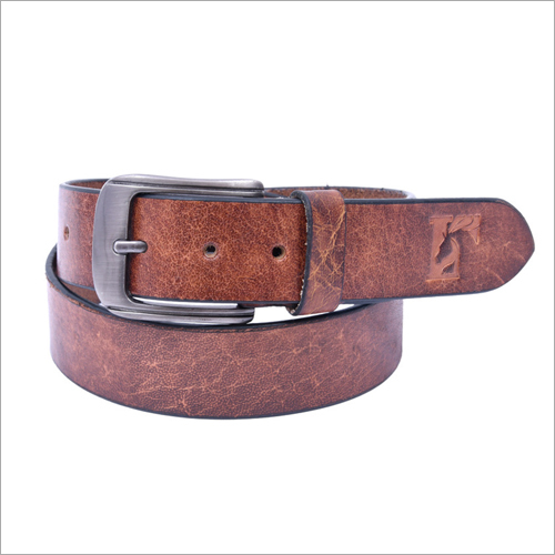 Mens Studded Leather Belt