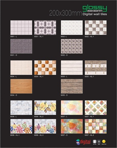 20x30 Digital Wall Tiles