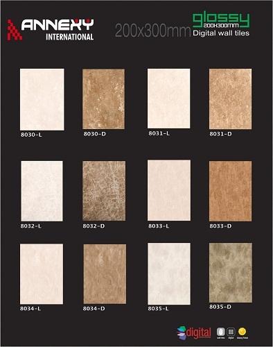 Light and Dark Wall Tiles Series