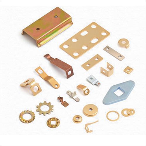 Brass Sheet Cutting Component