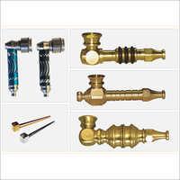 Brass Precision Smoking Pipe