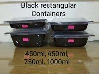 Spt black 750ml (salad & pasta tray)