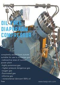 V type Diaphragm Compressor