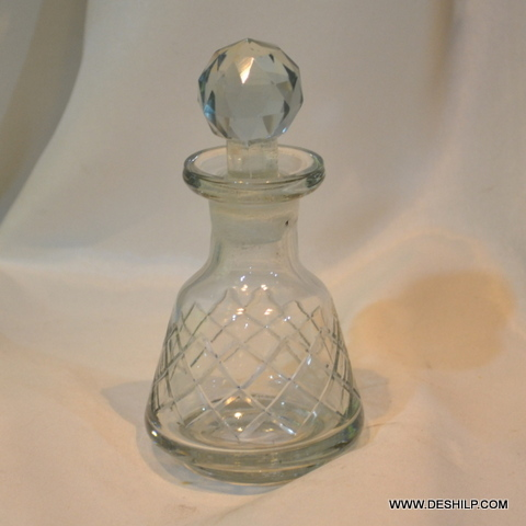 Cutting Glass Perfume Bottle