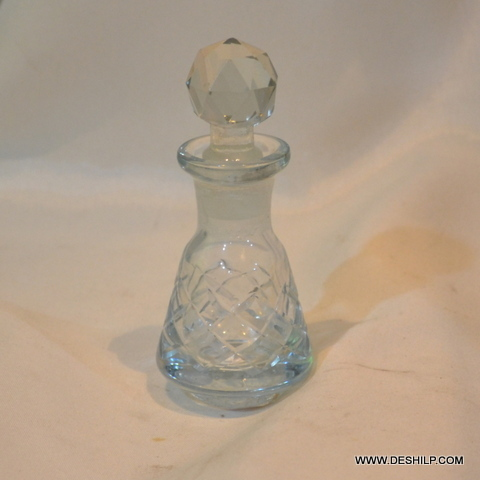 Clear Perfume Bottle And Decanter