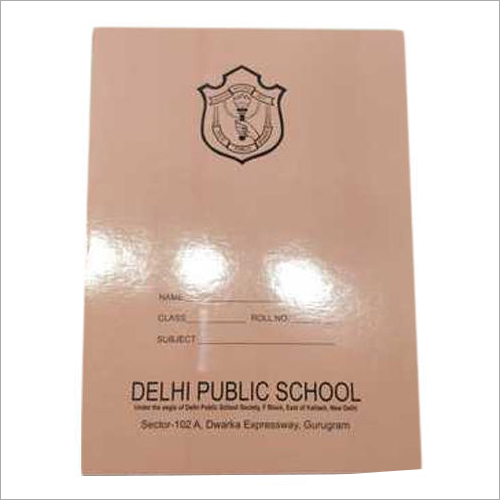 Customized School Notebook