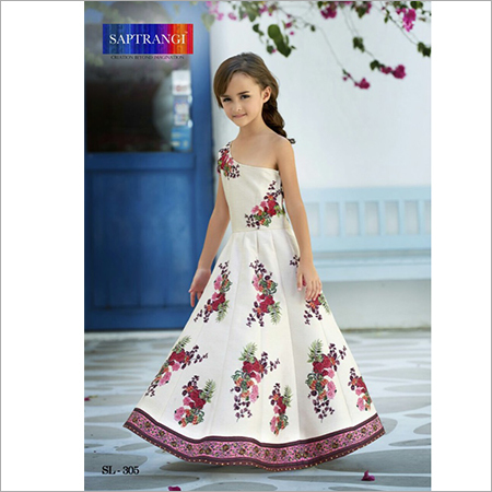 Kids Ethnic Wear Party Gown