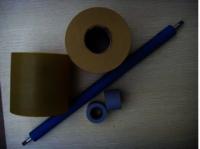 Fax machine rubber roller