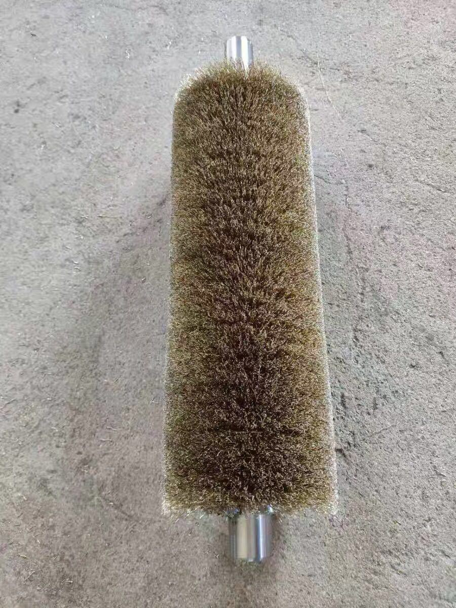 Copper / Brass Wire Brush for Polishing and De-Rusting
