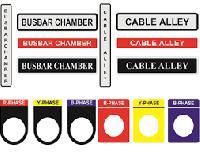 Control Panel Stickers