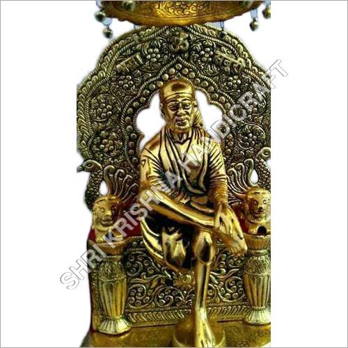 Gold Plated Aluminum Statue
