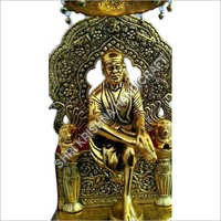 Gold Plated Aluminum Statue