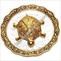 Gold Plated Kachua Plet Yantra