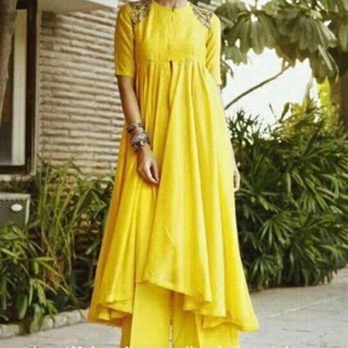 Ladies Asymmetrical Anarkali Kurti