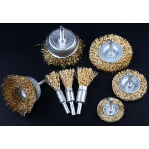 Driller steel / Brass wire brush