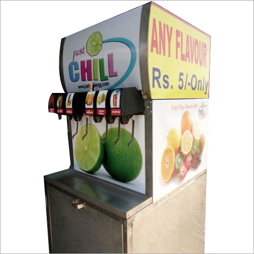 7 Flavour Soda Machine
