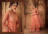 Net sharara suits