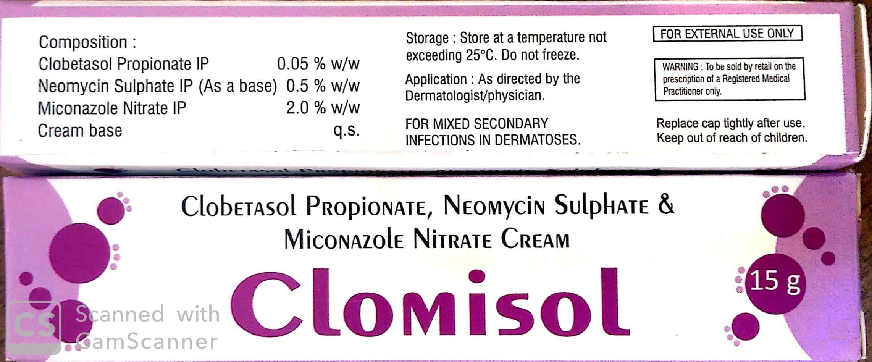 Clobetasol, Miconazole and Neomycin Cream