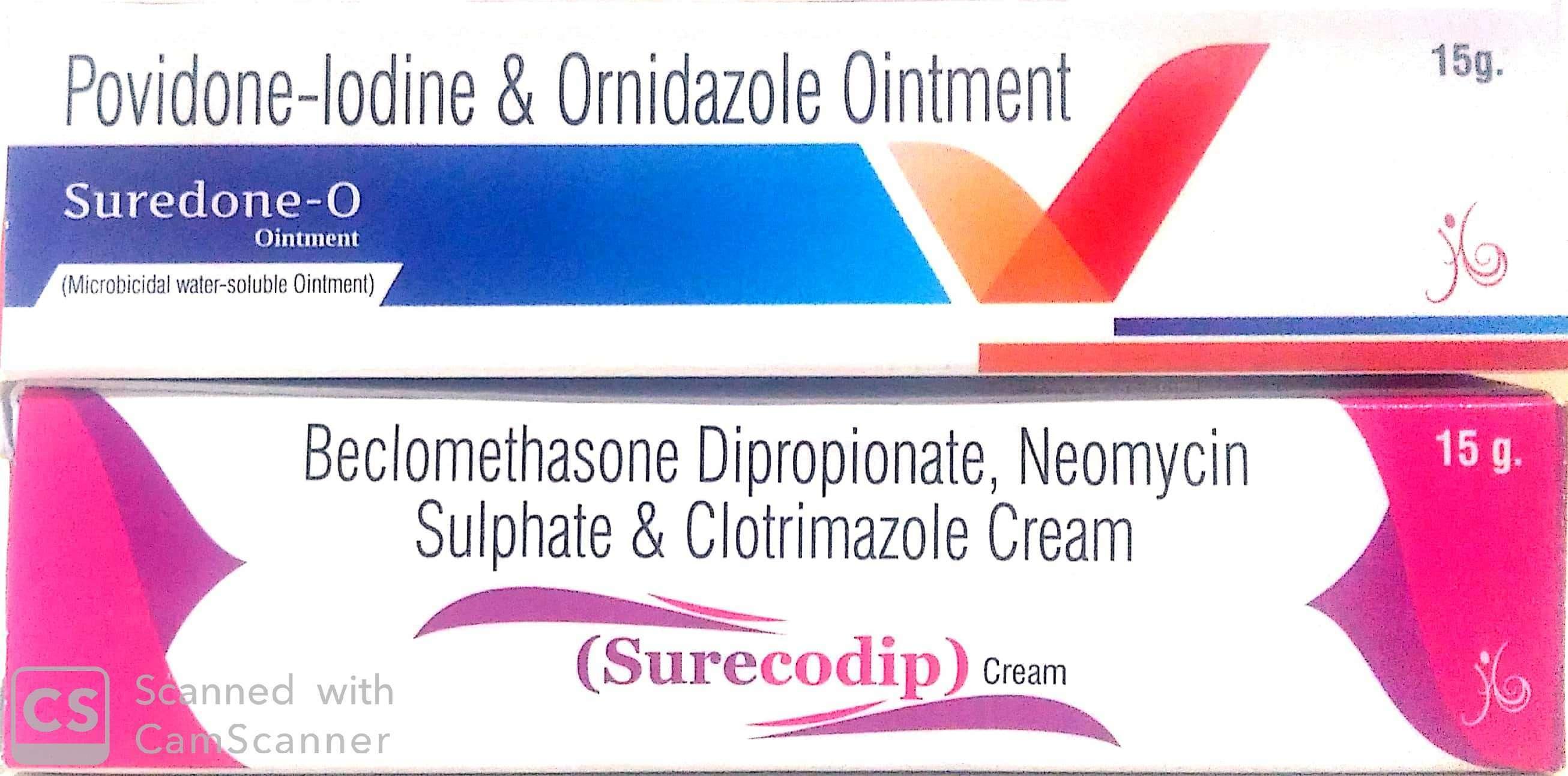 Povidone Iodine with Ornidazole Tablets