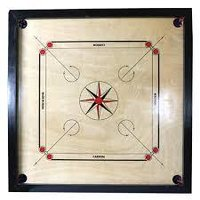Small Wooden Carrom Board