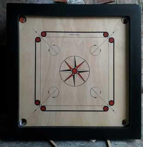 Tournament carrom board