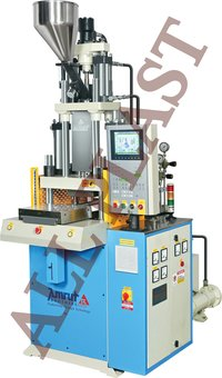 55 Ton Double Slide Vertical Injection Machine