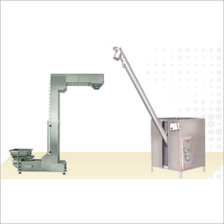Bucket Elevator & Screw Conveyor For Hopper Filling