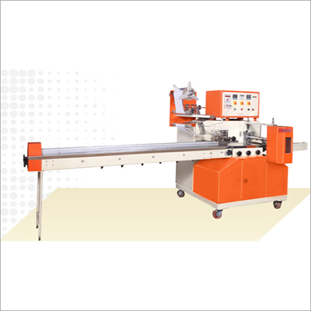 Horizontal Flow Wrapping Machine To Pack Variety of Solid Shapes & Materials