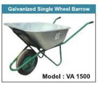 Galvanised Single Wheel Barrow