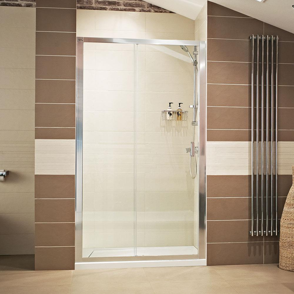ENCASE - SS FRAMED SLIDING SHOWER ENCLOSURE