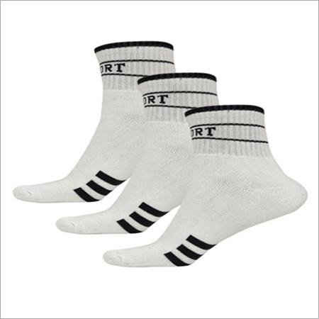 Low Cut White Socks