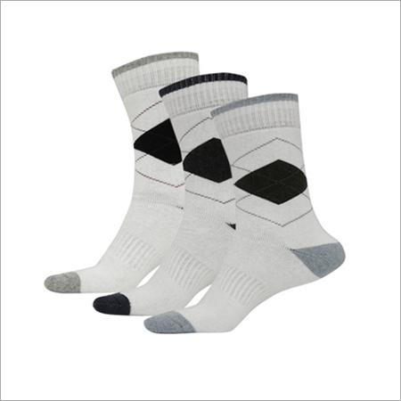 Full length white Socks