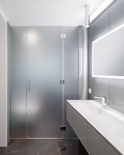 TRIO 180 DEGREE SHOWER ENCLOSURE