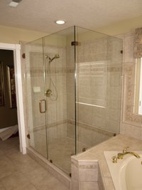 TRIO 90 DEGREE SHOWER ENCLOSURE
