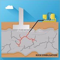 Rock Stabilisation Concrete Grout