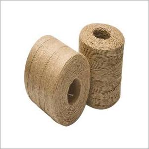 Brown Jute Yarn Roll