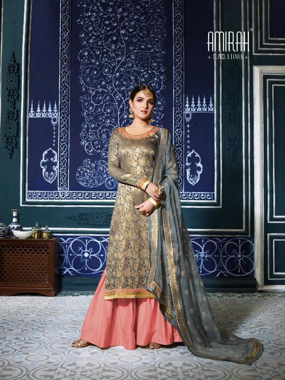 Designer Banarasi Jacquard Suits