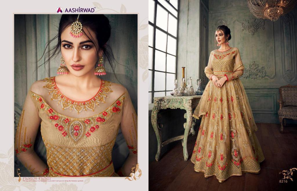 Latest Party Wear Anarkali Suits