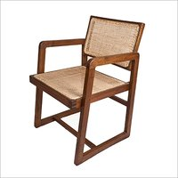 Pierre Jeanneret Large Box Chair Replica