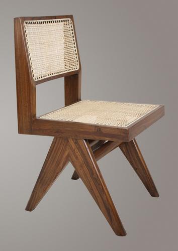 Handmade Pierre Jeanneret Student Chair