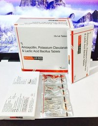 Amoxicillin 500 mg + Clavulanic Acid 125 mg + Lb 2.5 Million Spores