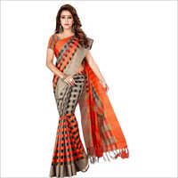 Ladies Party Wear Chiffon Saree