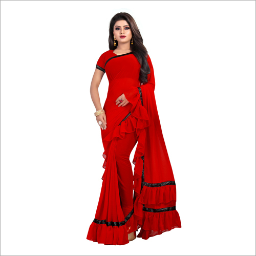 Ladies Fancy Chiffon Saree