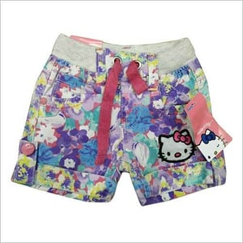 Girls Cotton Short Pant