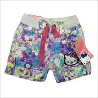 Girls Cotton Short Pant