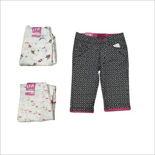 Girls Capri Pant