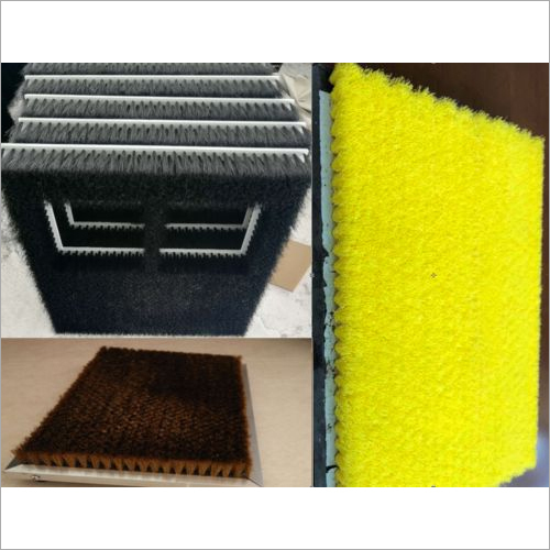 Board type nylon brush