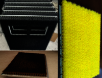 Board type nylon brush