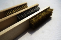 Brass wire brush