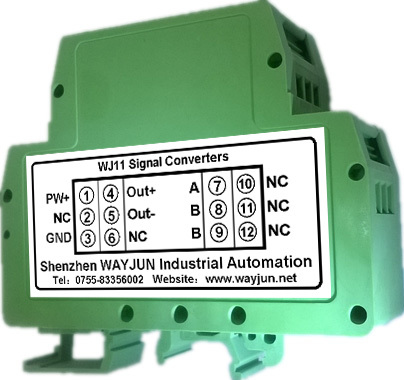 PT100 to 4-20mA/0-5V  isolated converters/transducer/temperature